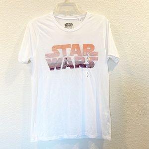 NWOT - Star Wars White T-shirt